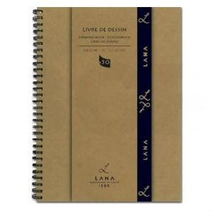 Lana Livre De Dessin Drawing Book-JOURNALS-Brush and Canvas