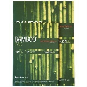 Hahnemule Bamboo Multi-Media 265gsm 10 Sheets-Mixed Media Pads-Brush and Canvas