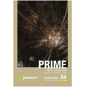 Prime Art Multi Media Pad 200g 20 Sheets-Mixed Media Pads-Brush and Canvas