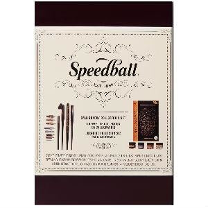 Speedball Collectors Calligraphy Set-Calligraphy-Brush and Canvas