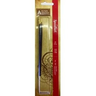 Speedball A - Pen Holder - Crow Quill No.102-Calligraphy-Brush and Canvas