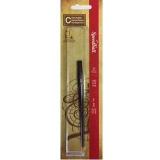 Speedball C - Pen Holder - No.104-Calligraphy-Brush and Canvas