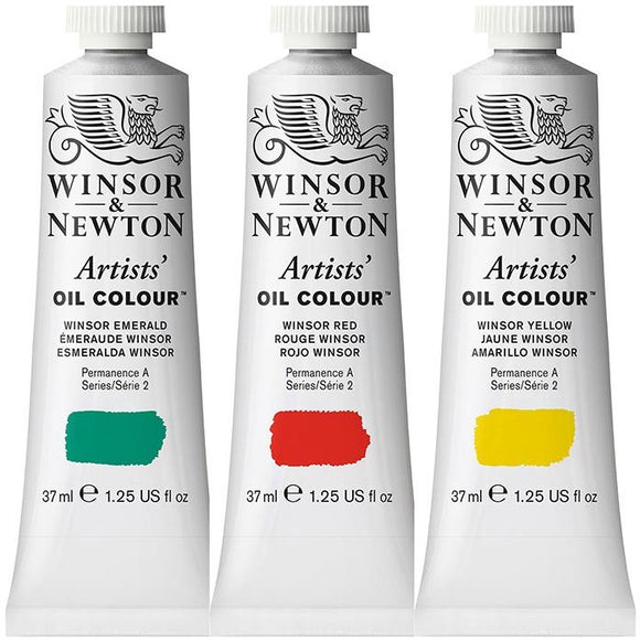 WINSOR & NEWTON ARTIST Oil Colours - 37ml