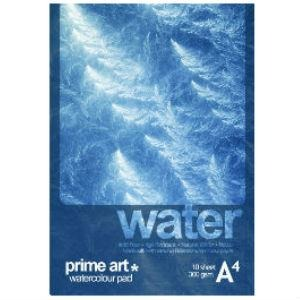 Prime Art Water Pad 300gsm 10 Sheets - Cold Pressed-Watercolour Pads-Brush and Canvas
