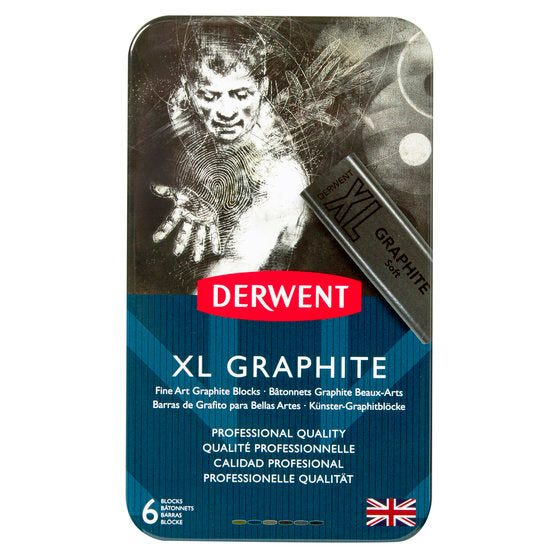 DERWENT XL Graphite Tin