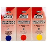 Zelcol Impasto - Set 3 Primary Colours 100ml-Oil-Brush and Canvas