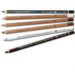 Cretacolour Oil Pastel Pencils-Pastel Pencils-Brush and Canvas