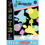 Butterfly Project Pads - Board 160gsm-PROJECT PADS-Brush and Canvas