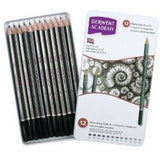 Derwent Academy Sketching Pencils-Graphite Pencils-Brush and Canvas