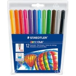 Staedtler Noris Club Fibre Tips-Drawing & Colouring-Brush and Canvas