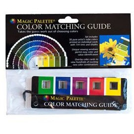 Magic Palette Colour Matching Guide-Artist Essentials-Brush and Canvas