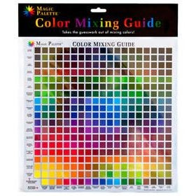Magic Palette Colour Mixing Guide-Artist Essentials-Brush and Canvas