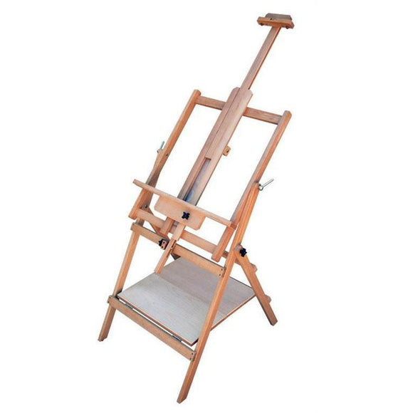 Multi Media Beech Wood Easel (EA15)-Easels-Brush and Canvas