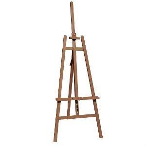 Wooden A-Frame Studio Easel (EA6) Fully Adjustable-Easels-Brush and Canvas
