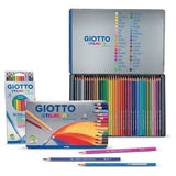 Giotto Stilnovo Acquarell Water Coloured Pencils-Watercolour Pencils-Brush and Canvas