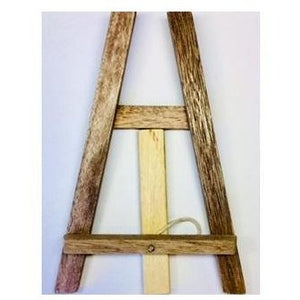 Gizz Wooden Mini Display Easel-Easels-Brush and Canvas