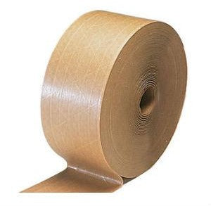 Gummed Tape 72mm width x 200m length-Adhesives & Tapes-Brush and Canvas
