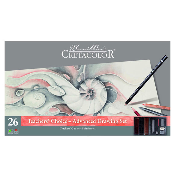 CRETACOLOR Teachers Choice Advanced Drawing Set