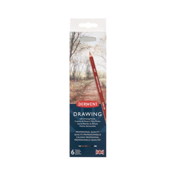 DERWENT Drawing -  6 Piece