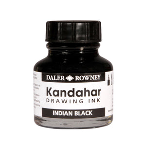 DALER-ROWNEY Kandahar Black Indian Drawing Ink