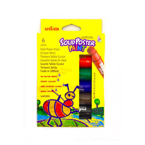 Solid Poster Paint Crayon Stick
