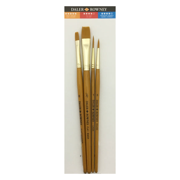 DALER-ROWNEY Gold Taklon Brush Sets