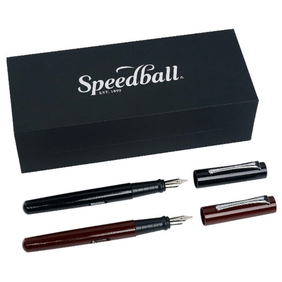 SPEEDBALL Calligraphy Fountain Pen Gift Set