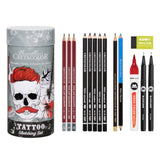 CRETACOLOR Tattoo Sketching Set
