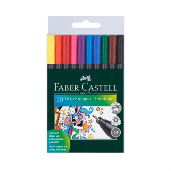 FABER-CASTELL Grip Fineliners