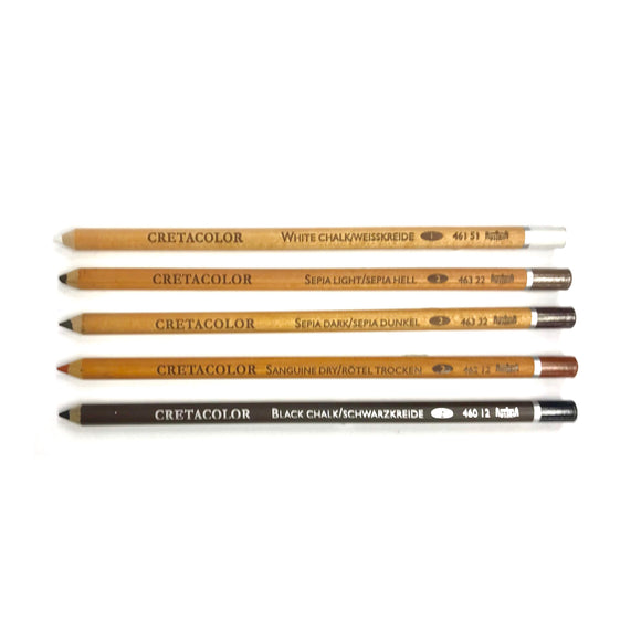 CRETACOLOR Dry Pastel Pencils