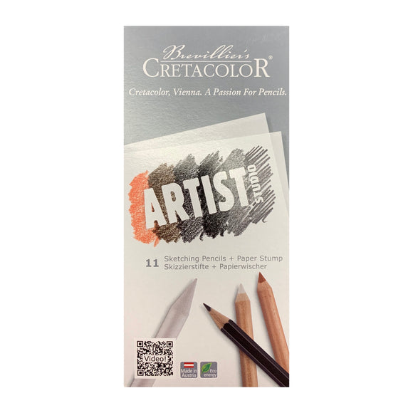 CRETACOLOR Artist Studio Drawing 101 Introduction Set