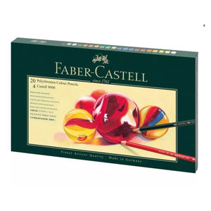 FABER-CASTELL Polychromos colour pencil, gift set, Mixed Media