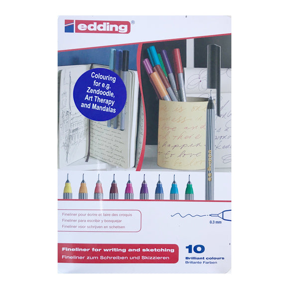 EDDING 55 Fineliner Tin Sets