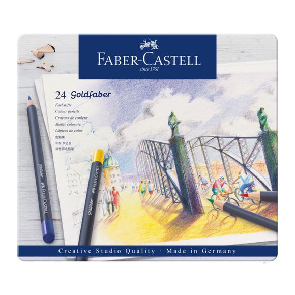 FABER-CASTELL Goldfaber Colour Pencil Set