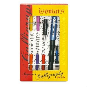 Isomars Calligraphy Set - Beginner-Calligraphy-Brush and Canvas