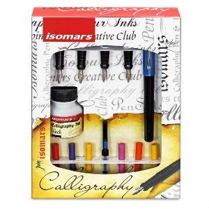 Isomars Calligraphy Set - English-Calligraphy-Brush and Canvas