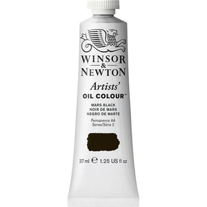 WINSOR & NEWTON ARTIST Oil Blacks, Whites and Metallics - 37ml