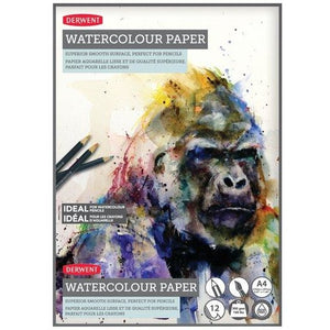 Derwent Watercolour Pads-Watercolour Pads-Brush and Canvas