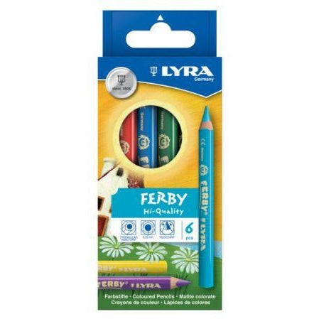 Lyra Ferby Chunky Colour Pencils-Colour Pencils-Brush and Canvas