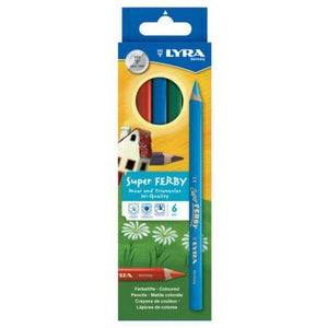 Lyra Super Ferby Colour Pencils-Colour Pencils-Brush and Canvas