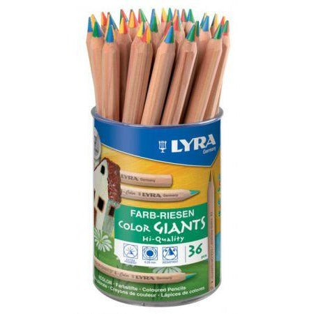 Lyra Super Ferby Quatro Multi Colour Pencil-Drawing & Colouring-Brush and Canvas