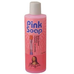 Speedball Pink Soap 4fl oz-Brush Cleaners-Brush and Canvas