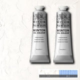 Winton Oil Colour 200ml Twinpack - Titanium White-Oil Colour-Brush and Canvas