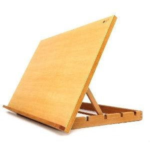 Wooden Watercolor Table Easel (EA16)-Easels-Brush and Canvas