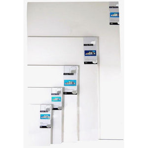 Home Decor Multi Media Canvas - Urban-Deep Edge Canvas Stretchers-Brush and Canvas