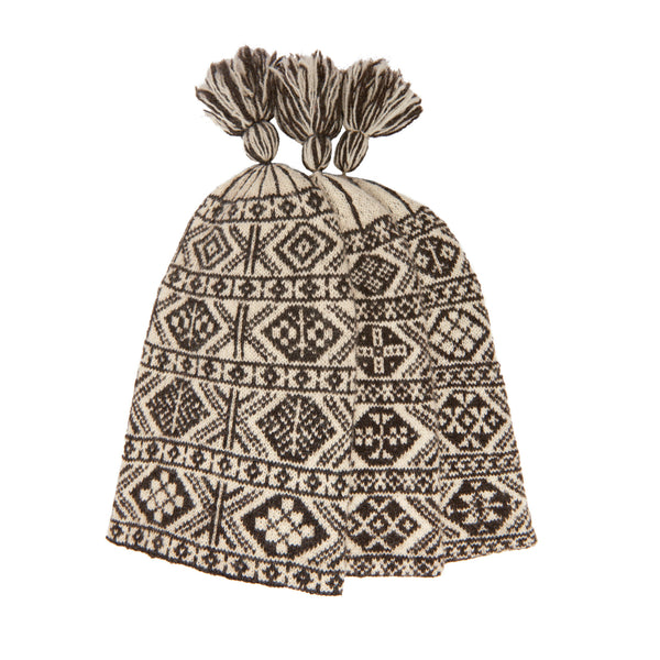 K6 2-colour hat with lining
