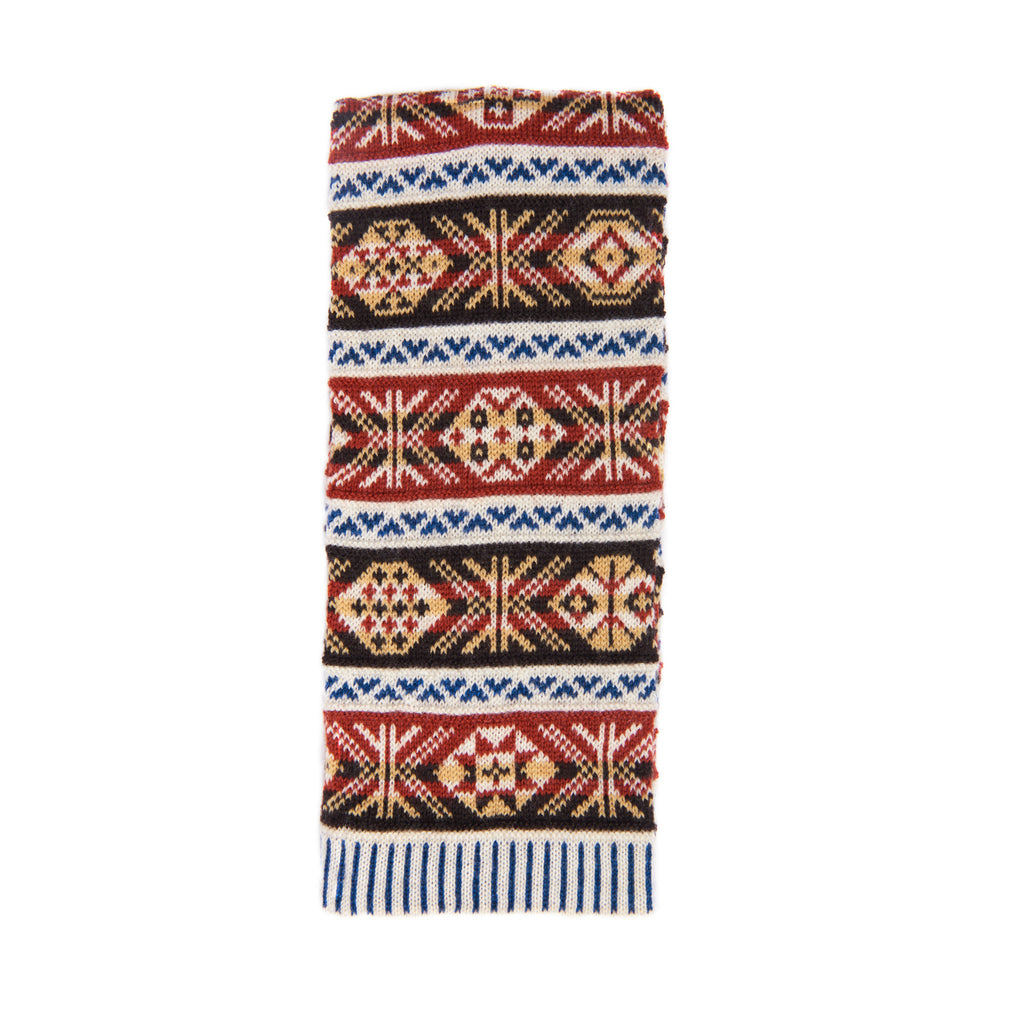 Family 1) - 5-colour Classic Design Scarf - Mini - C895 - BAKKA
