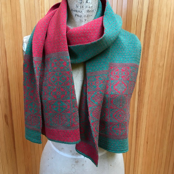 2-colour Thick Scarf in Limited Edition Colours - BAKKA