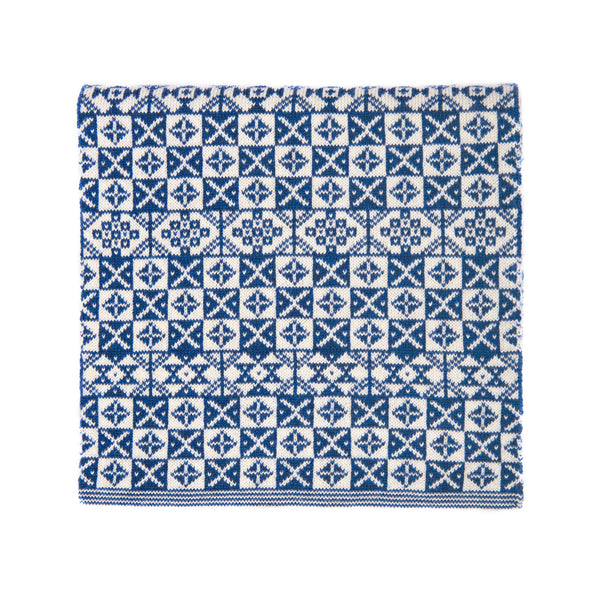 Family 6) - 2-colour Scarf with Sand Pattern - T898 - BAKKA
