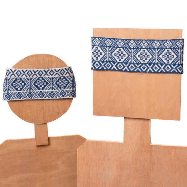 Design 9 - 2-colour Thick Headband - BAKKA